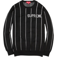 Wide Pinstripe Sweater